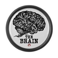 Glaze Brain Large Wall Clock