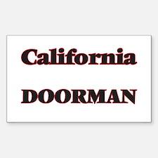 California Doorman Decal
