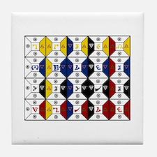 Enochian Tile Coaster