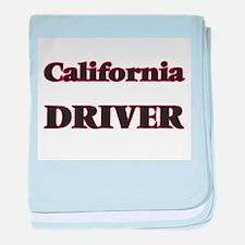 California Driver baby blanket