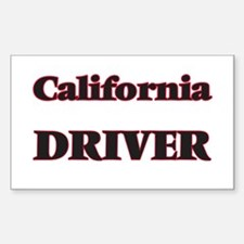 California Driver Decal