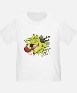 Squirrel Girl Fighting Crime T