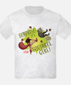 Squirrel Girl Fighting Crime T-Shirt