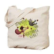 Squirrel Girl Fighting Crime Tote Bag