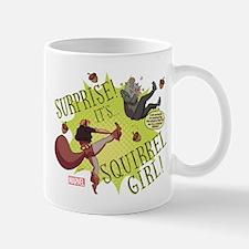 Squirrel Girl Fighting Crime Mug