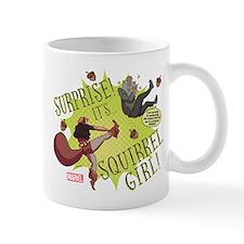 Squirrel Girl Fighting Crime Small Mug