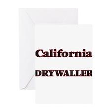 California Drywaller Greeting Cards