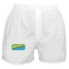 Arches National Park (green/b Boxer Shorts
