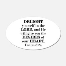 Psalm 37:4 Wall Decal
