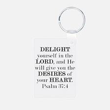 Psalm 37:4 Keychains Keychains