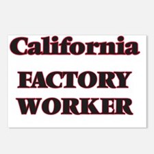 California Factory Worker Postcards (Package of 8)