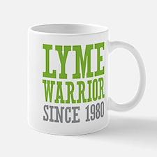 Lyme Warrior Since 1980 Mugs