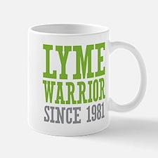 Lyme Warrior Since 1981 Mugs