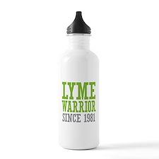 Lyme Warrior Since 198 Water Bottle
