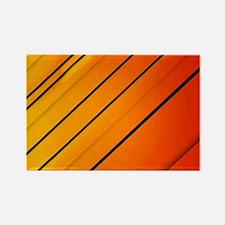 Lines Art Rectangle Magnet
