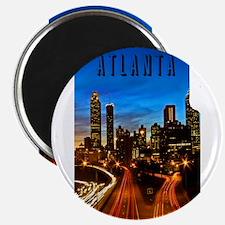 Funny Atlanta Magnet