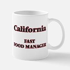 California Fast Food Manager Mugs