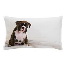 Cute Brindle Boxer Puppy Pillow Case
