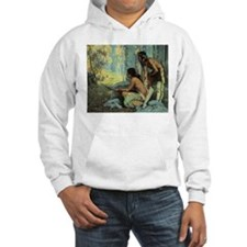 Taos Turkey Hunters by Couse Hoodie