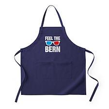 Feel the Bern [glasses] Apron (dark)
