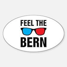 Feel the Bern [glasses] Decal