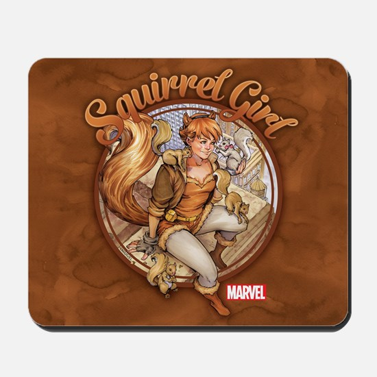Squirrel Girl Rooftop Mousepad