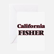 California Fisher Greeting Cards