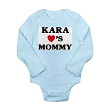 Funny Mommy Long Sleeve Infant Bodysuit
