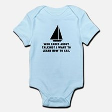 I Want To Learn Sailing Body Suit