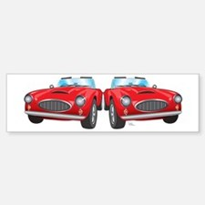 Little Red Convertible - Glaz Sticker (Bumper)