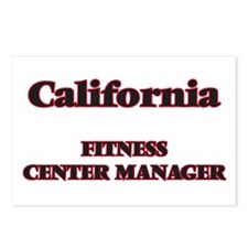 California Fitness Center Postcards (Package of 8)