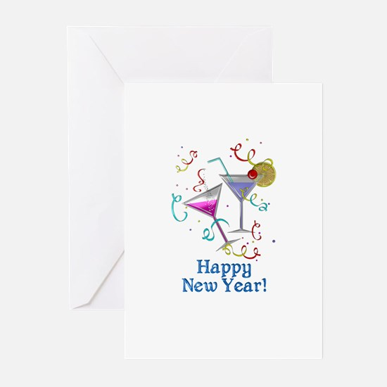 Happy New Year Greeting Cards (Pk of 20)