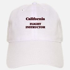 California Flight Instructor Baseball Baseball Cap