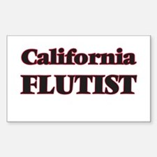 California Flutist Decal