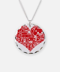 Gamer heart Necklace