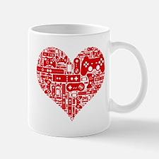 Gamer heart Mugs