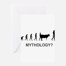 Mythology Minotaur Greeting Cards