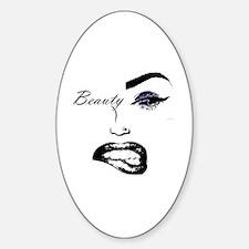 Unique Minaj Sticker (Oval)