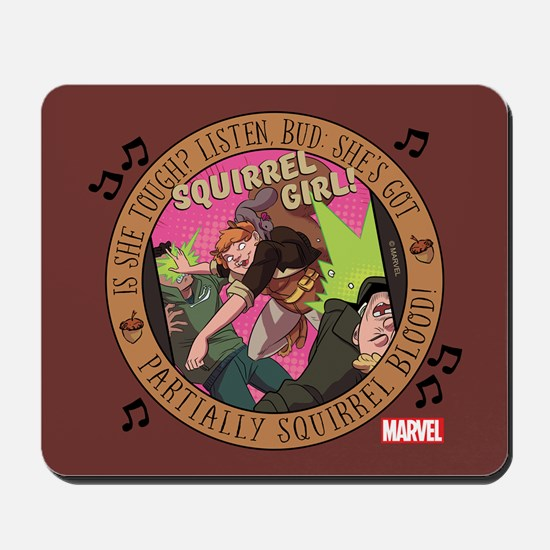 Squirrel Girl Action Mousepad