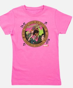 Squirrel Girl Action Girl's Tee