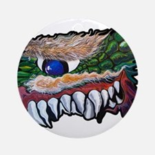 Monster Teeth Ornament (Round)