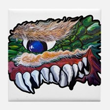 Monster Teeth Tile Coaster