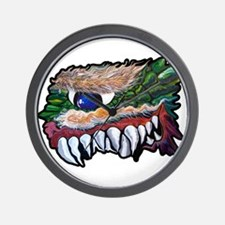 Monster Teeth Wall Clock