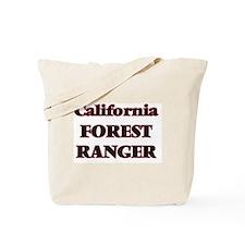 California Forest Ranger Tote Bag