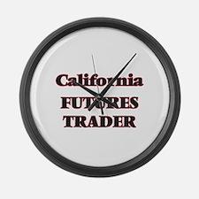 California Futures Trader Large Wall Clock