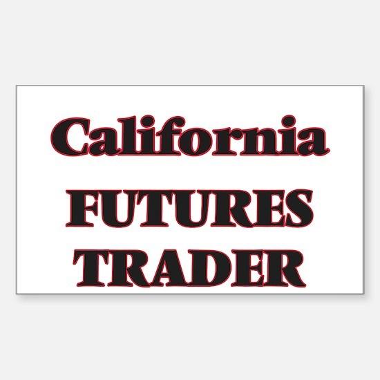 California Futures Trader Decal