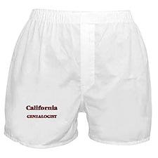 California Genealogist Boxer Shorts