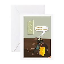 Rattachewie 2 - Greeting Card 2 - 5x7 Single Card