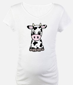 Cute Cartoon Cow Shirt