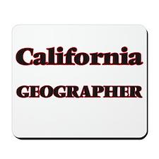 California Geographer Mousepad